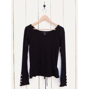 Marc Jacobs Black Angora Rabbit Sweater Small